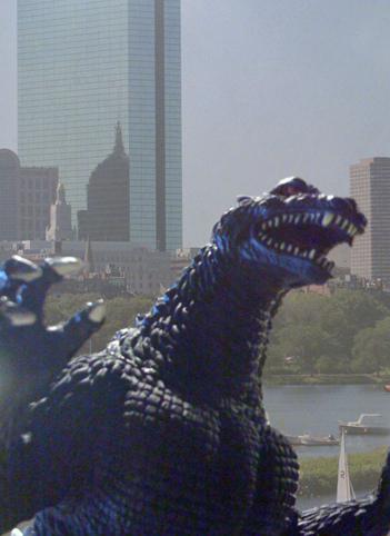 Godzilla in Boston, October 2008