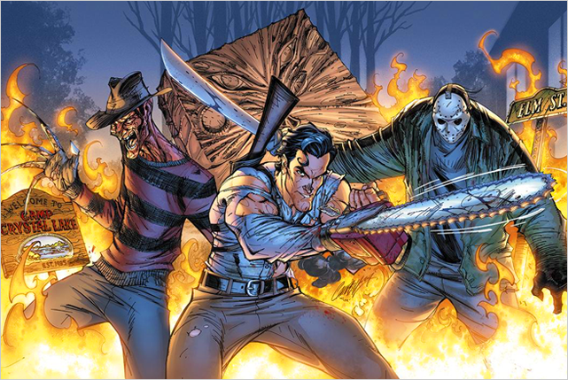 Jason Vs Freddy Vs Ash