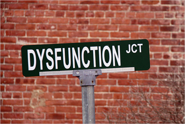 Dysfunction junction what is your function?