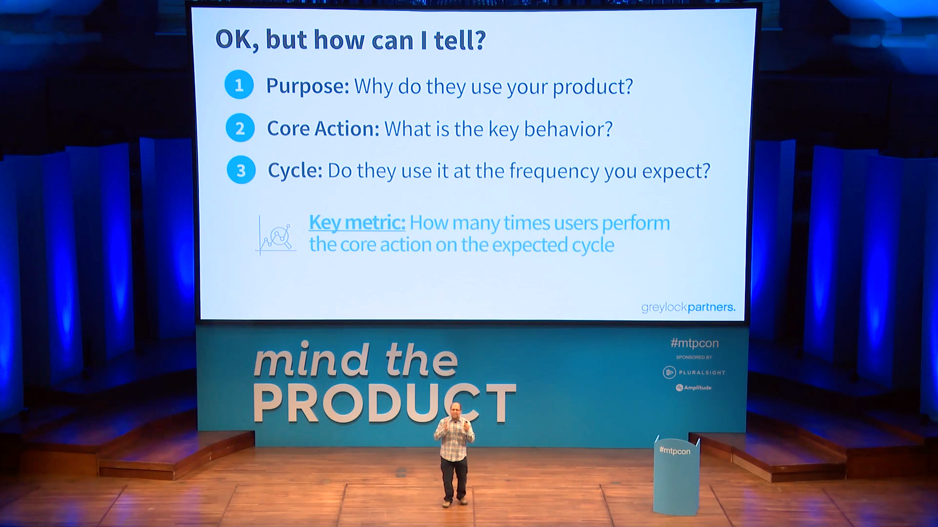 Video: The Only Product Metric That Matters