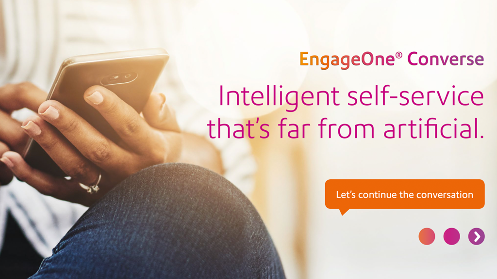 We Just Launched Our New Chatbot Product EngageOne Converse!